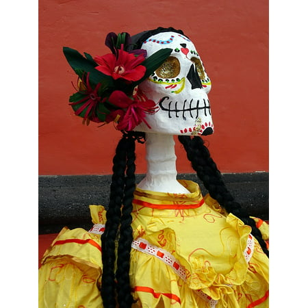 LAMINATED POSTER Animas Mexico Day Of The Dead Catrina Skeleton Poster Print 24 x - Who Is Catrina Day Of The Dead