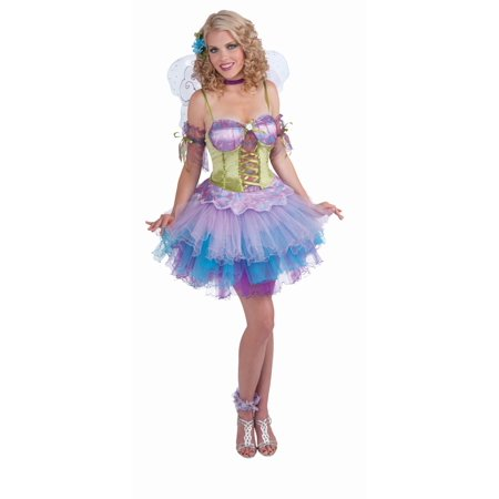 Spring Daydream Fairy Dress Costume w/Armbands Adult - Spring Costume
