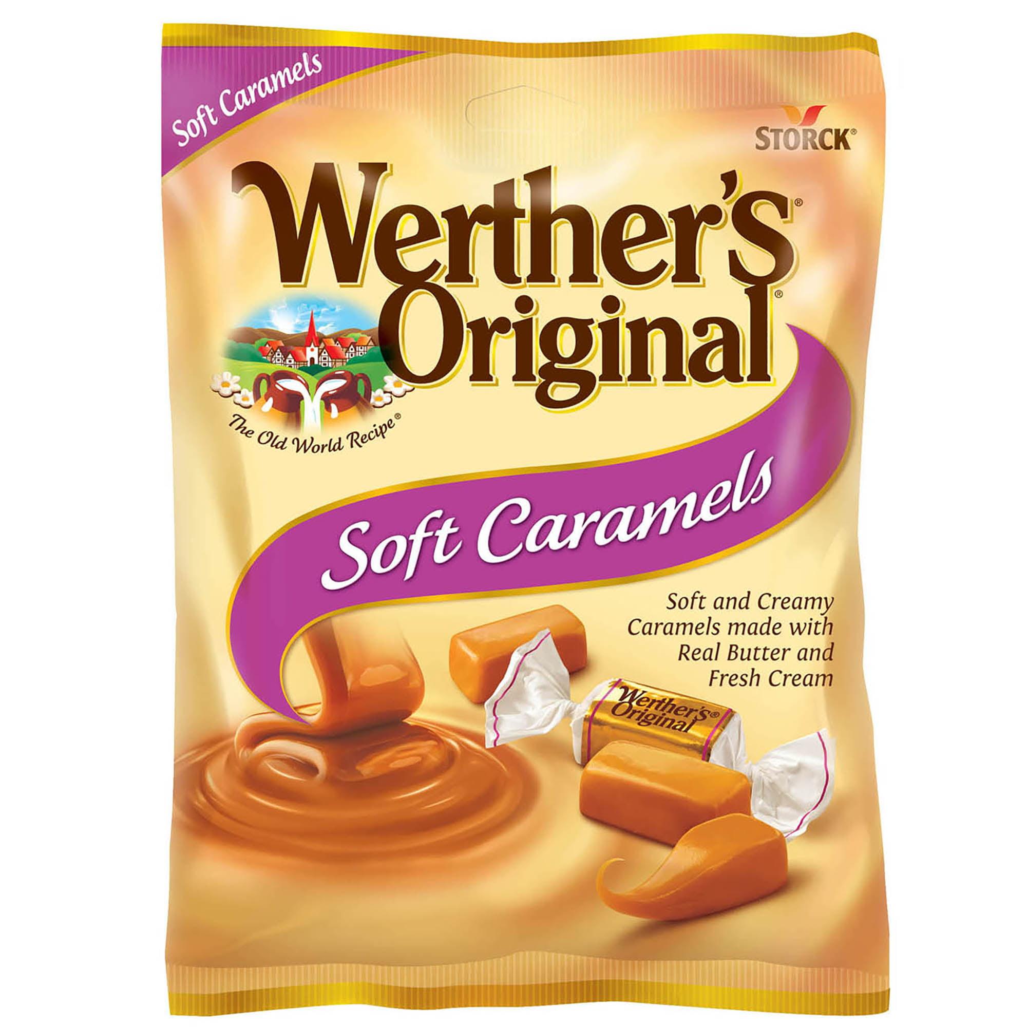 Werther's Original Soft Caramels, 2.22 oz.
