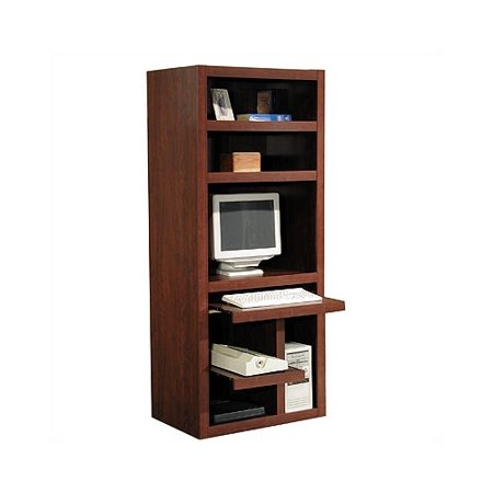 sports shoes 529f5 b608b Red Barrel Studio Ilsa Computer Desk with Armoire