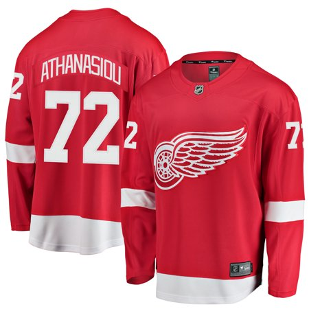 Andreas Athanasiou Detroit Red Wings Fanatics Branded Youth Breakaway Player Jersey - Red Concept Sports Detroit Red Wings