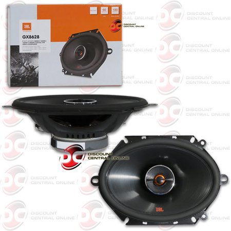 """JBL GX8628 5"""" X 7"""" / 6"""" X 8"""" 2-way Car Audio Coaxial Loud Speakers 180 Watts Max"""