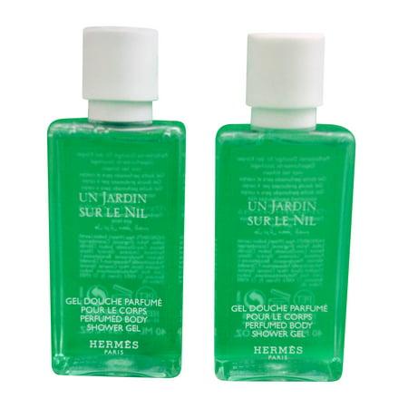 Hermes Jardin Sur Le Nil Perfumed Shower Gel 40 Ml set of 2