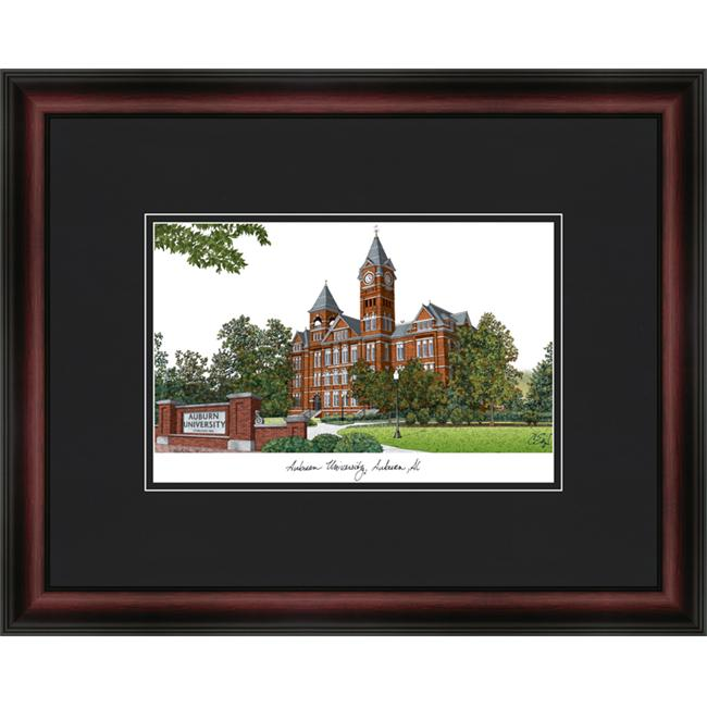 Campus Images AL992A Auburn University Academic Lithograph Framed