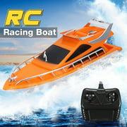 26x7.5x9cm Orange Plastic Electric Remote Control Kid Chirdren Toy Speed Boat