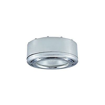 JESCO PK200 Slim Disk Round Halogen Plastic Puck Under Cabinet Light