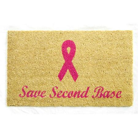 Geo Crafts, Inc Save Second Base Doormat (Save 2nd Base)