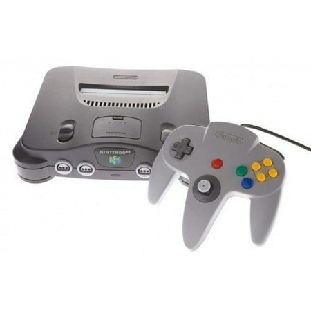 Refurbished Nintendo 64 System Video Game Console