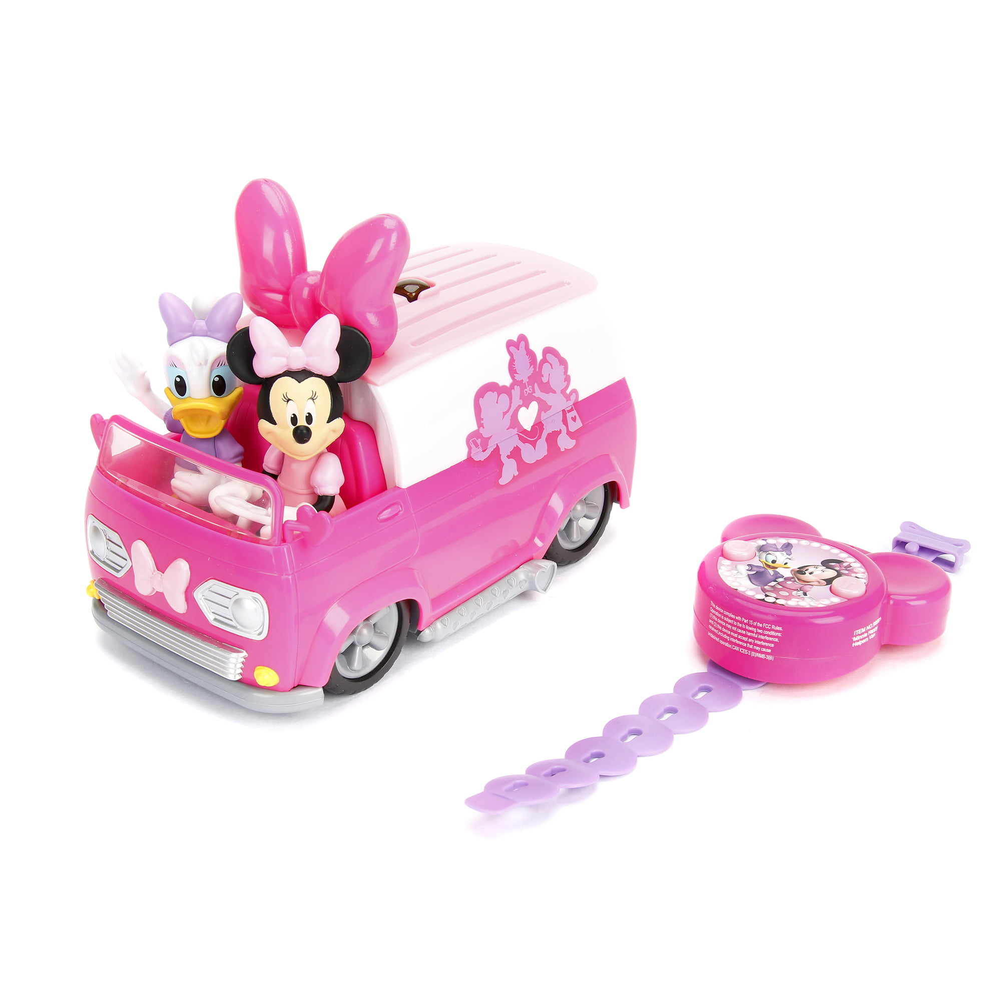 Jada Toys Remote Control Minnie Mouse Van by Jada Toys