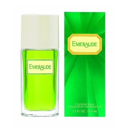 Emeraude Perfume Cologne Spray- 2.5 Fl Oz + Yes to Tomatoes Moisturizing Single Use Mask