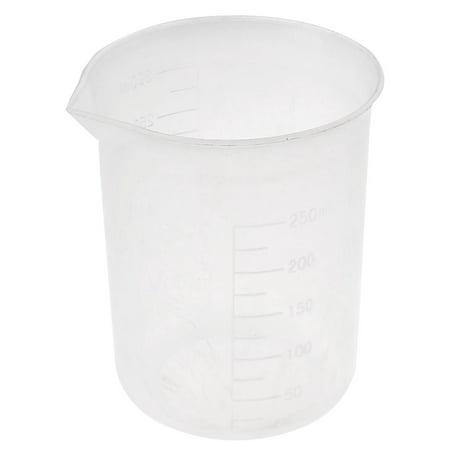Unique Bargains Lab Kitchen 300ml Measure Cup Beaker for Water Sauce Sugar Chemical