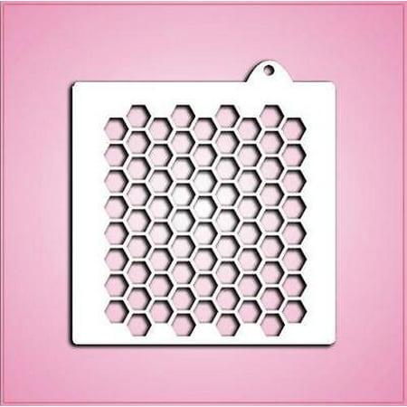 Honeycomb Pattern Stencil (Honeycomb Stencil)