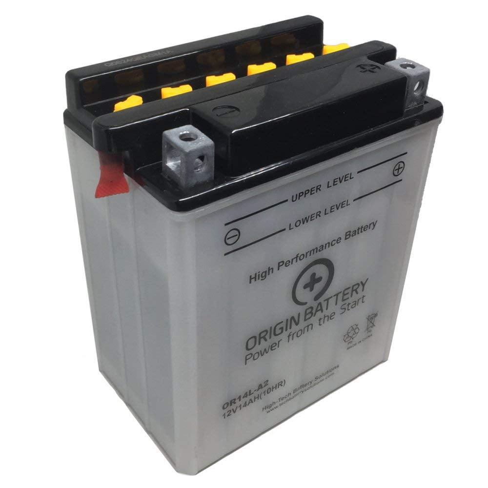 Origin Battery Or14l A2 Replaces Cb14l A2 Exide 14l A2 Xt14l A2 Yb14l A2 Walmart Com Walmart Com