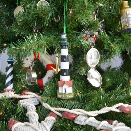handcrafted nautical decor bodie island lighthouse christmas tree ornament
