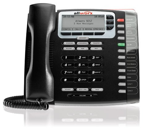 Allworx 9212 VoIP Phone - 12 Button