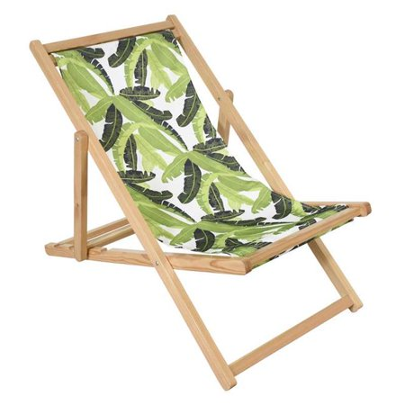 Astella BC50-P5-204 Astella Pine Wood Beach Chair in Lush Paradise - image 1 of 1