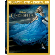 Cinderella (Live Action) (Blu-ray + DVD) by