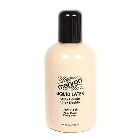4.5 Oz Clear Liquid Latex By Mehron - Halloween Makeup Ideas Using Liquid Latex