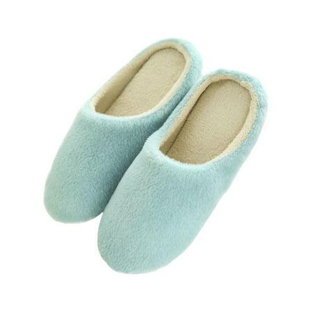 Sweetsmile Men Women Home Anti Slip Soft Sole Shoes Cotton
