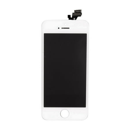 Lcd Front Glass - Phone display screen Replacement Full Front LCD Glass Digitizer LCD Display With Frame Assembly Repair Fit For iPhone 5