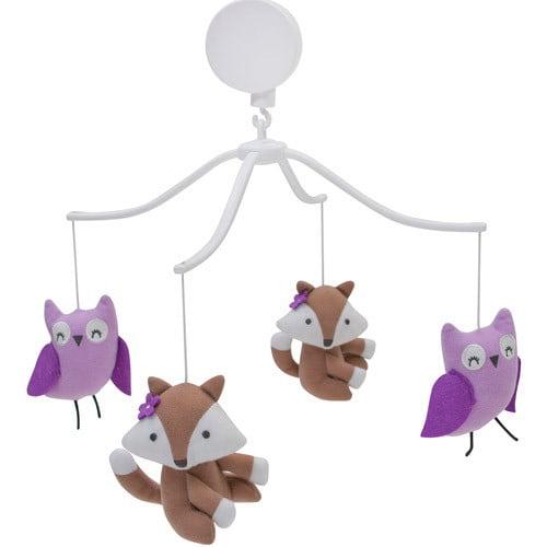 Bedtime Originals Lavender Woods Musical Mobile by Bedtime Originals
