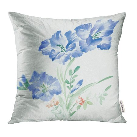 BSDHOME Abstract Elegant Flowers Series 2 The Leaves and Design Blossom Computer Pillow Case Pillow Cover 18x18 inch Throw Pillow Covers - image 1 de 1