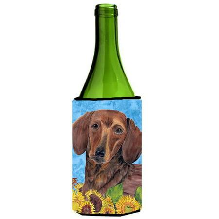 Dachshund Wine bottle sleeve Hugger - 24 oz. - image 1 of 1