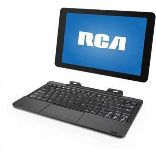 Refurbished RCA 10 Viking Pro with WiFi 10.1 2-in-1 Touchscreen Tablet PC Featuring Android 5.0 (Lollipop) Operating System