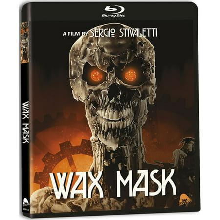 Smiley Horror Movie Mask (Wax Mask (Blu-ray + CD))