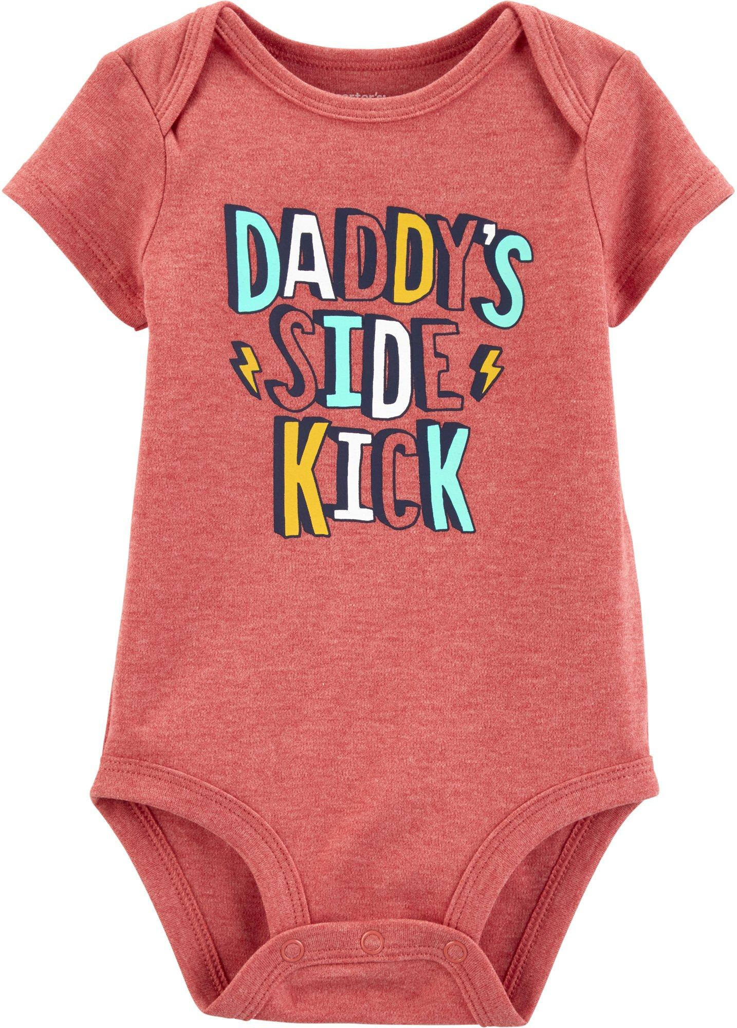 newborn clothes baby boy clothes sidekick onesie baby baby girl clothes coming home outfit onesie Daddy/'s Little Sidekick Onesie