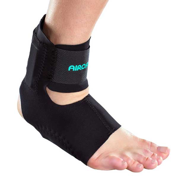 AirCast AirHeel Ankle Support-Without Stabilizer-Small