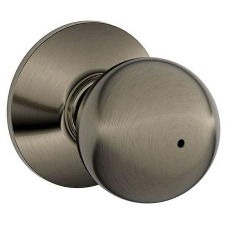 Schlage F40-ORB Orbit Privacy Door Knob Set from the F-Series