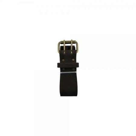 Style n Craft 74-053 2-Inch Work Belt Heavy Duty Oiled Top Grain Leather, 46-Inch - 60-Inch waist size