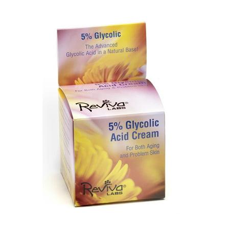 Reviva Labs Glycolic Day Night Cream  1 5 Oz