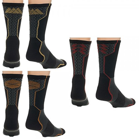Destiny HUNTER, WARLOCK, TITAN Division Logo Active Crew Sock Set of 3 Pairs LICENSED