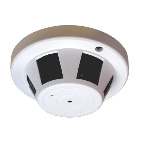 Smoke Detector Covert Wifi Spy Hidden Camera Digital Wire...