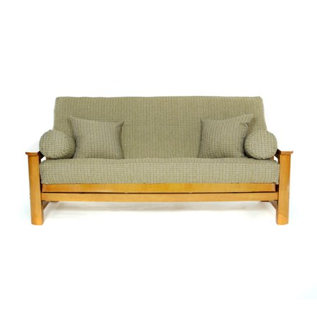 - Lifestyle Covers Breezy Point Box Cushion Futon Slipcover