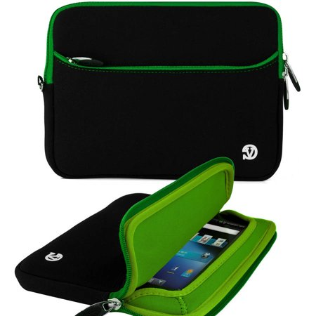 VANGODDY Neoprene Slim Tablet / eReader Carrying Sleeve Cover Protector fits up to 7, 7.9, 8 inch devices [Assorted Colors] [Apple, Acer, Asus, HP Samsung, Toshiba, etc] (Acer 7 Inch Tablet Accessories)