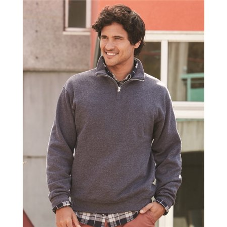 Jerzees Nublend® Quarter-Zip Cadet Collar Sweatshirt ()