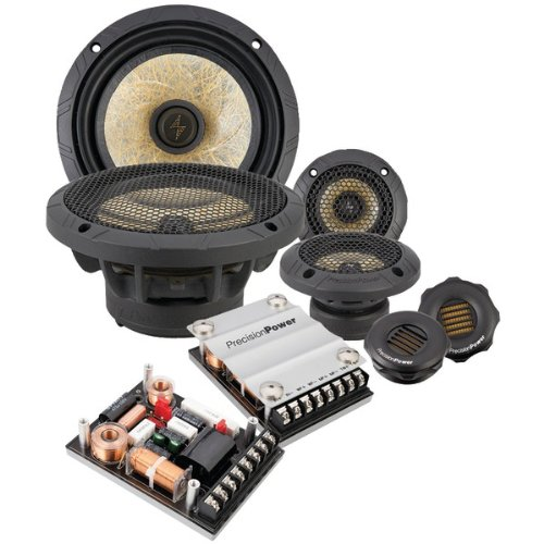 Precisionpower P.65c3 Speaker - 200 W Rms - 3-way - 1 Pack - 20 Hz To 40 Khz (p-65c3)