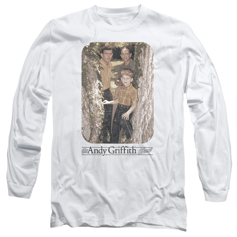 The Andy Griffith Show Tree Photo Mens Long Sleeve Shirt