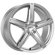 """Vision 469 Boost 17x7 5x110 +38mm Silver Wheel Rim 17"""" Inch"""