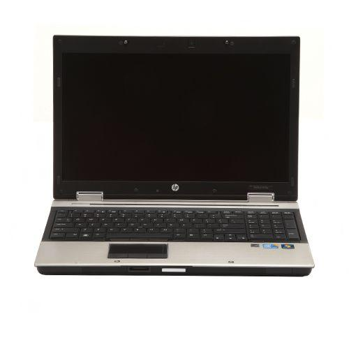 "Refurbished HP 8540P Intel Core i7 4GB Memory 250GB HDD 15.6"" Off-Lease Notebook Windows 7 Professional 64-bit"