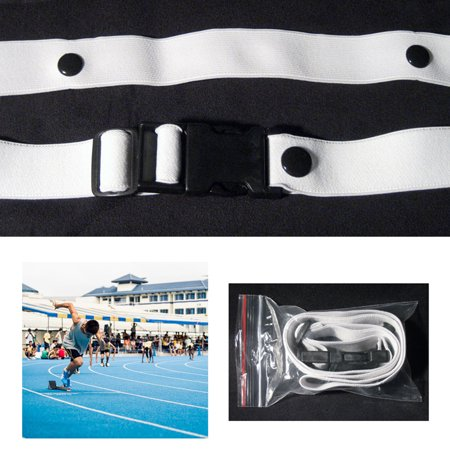 Sports Marathon Triathlon Belt Running Race Number Holder Waist Bib Belt