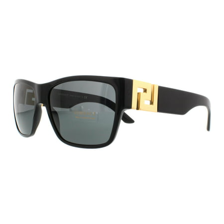 VERSACE Sunglasses VE4296 GB1/87 Black (Black Gold Versace Sunglasses)