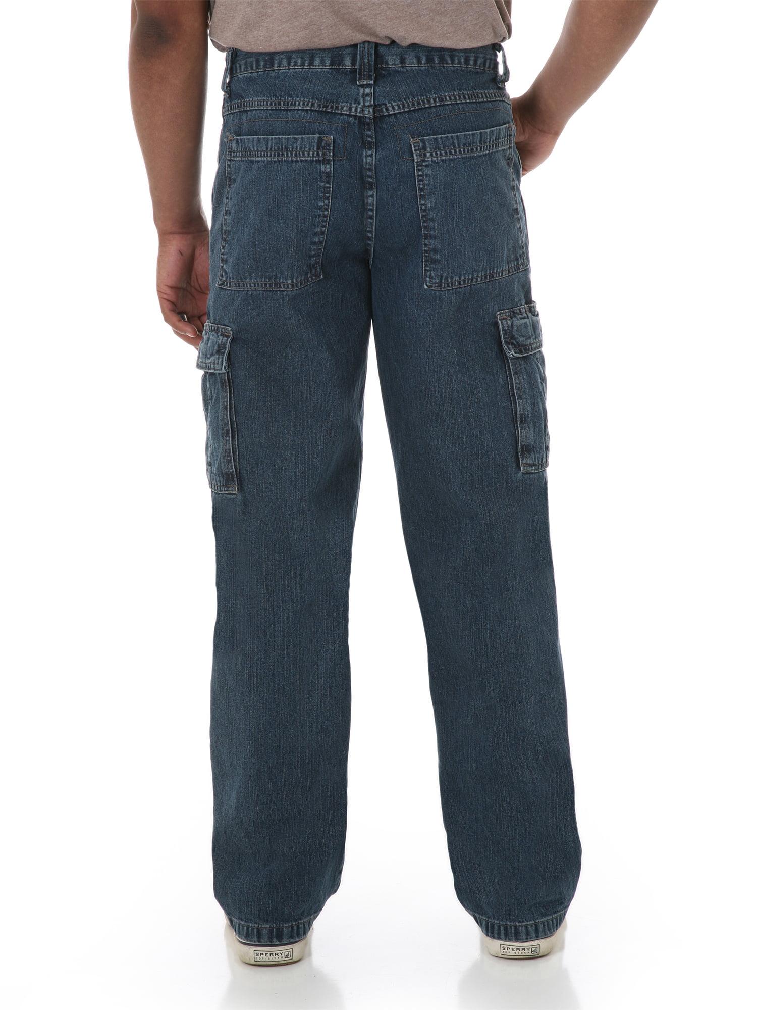 379d28776474 Wrangler - Wrangler Men's Relaxed Fit Cargo Jean - Walmart.com