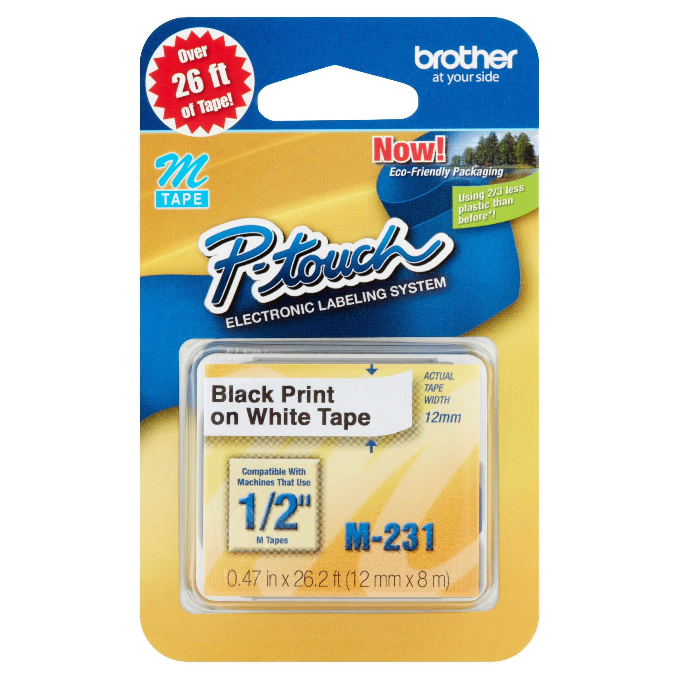 Brother P-touch Electronic Labeling System Tape - Walmart.com
