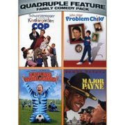 Family Comedy Pack Quadruple Feature: Kindergarten Cop   Problem Child   Kicking & Screaming   Major Payne (Widescreen) by UNIVERSAL HOME ENTERTAINMENT