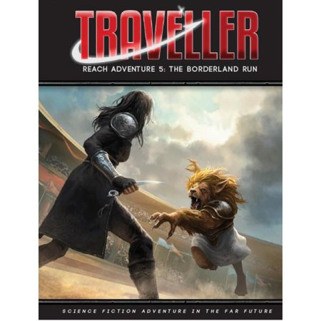 Mongoose Publishing MGP40018 Traveller Reach Adventure 5 the Borderland Run Role-Playing (This Game Runs In 65536 Color Mode)