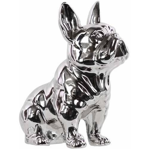 Urban Trends Collection: Ceramic Dog Figurine Gloss Finish